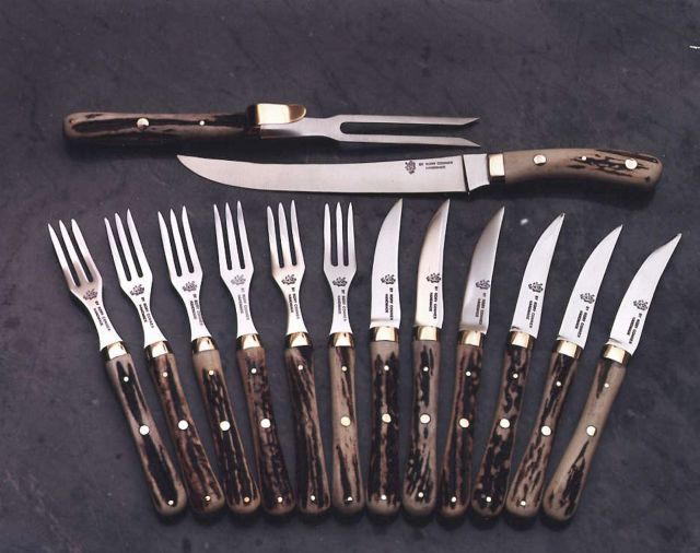 Carving set rory conner knives - Knives and forks sets ...